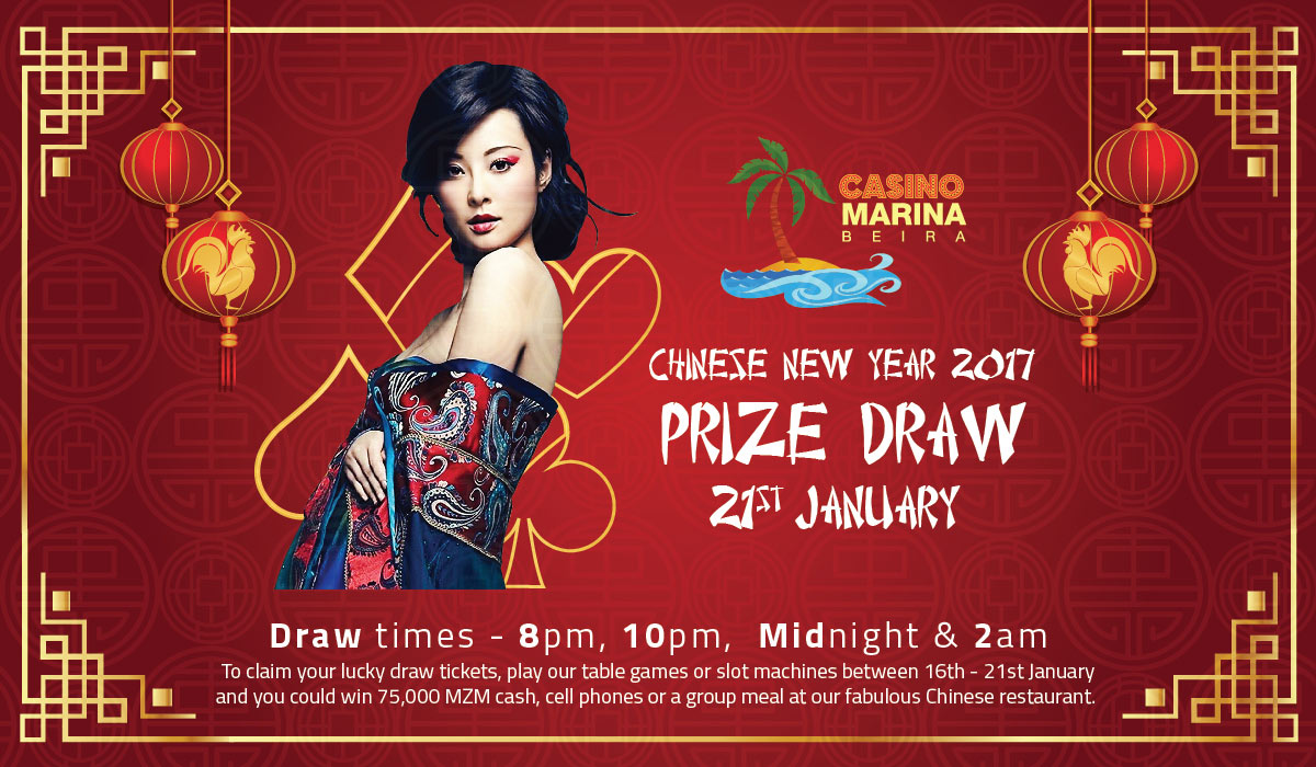 Chinese New Year 2017 Prize Draw