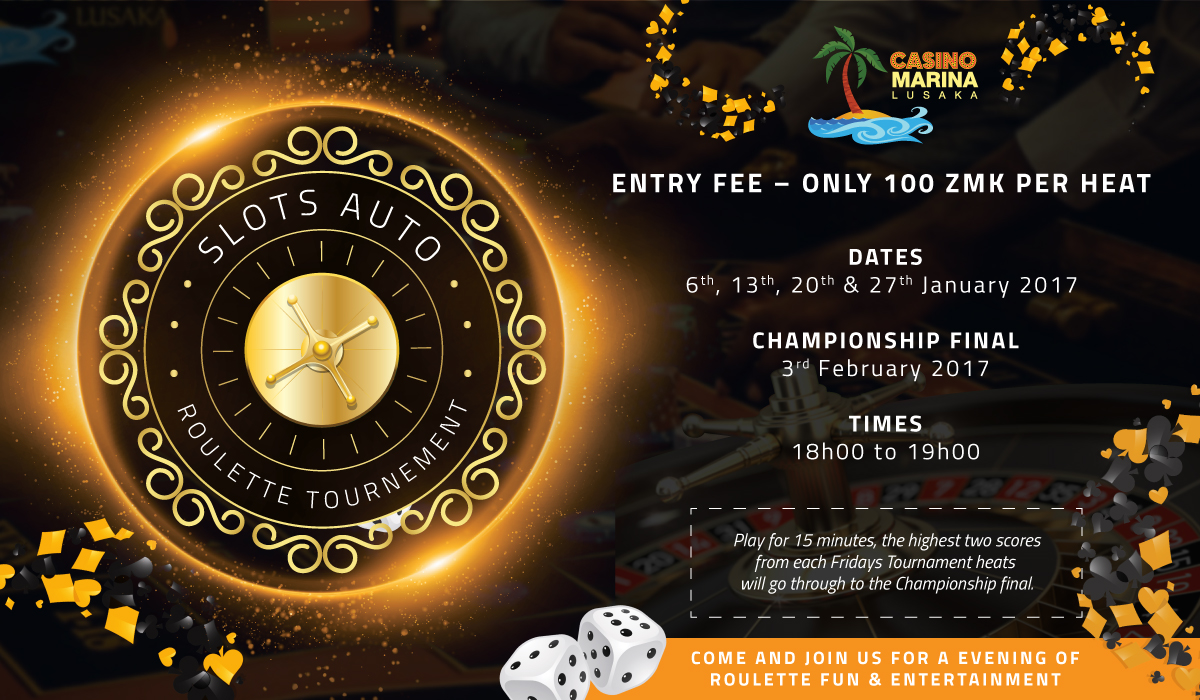 Roulette tournament lusaka
