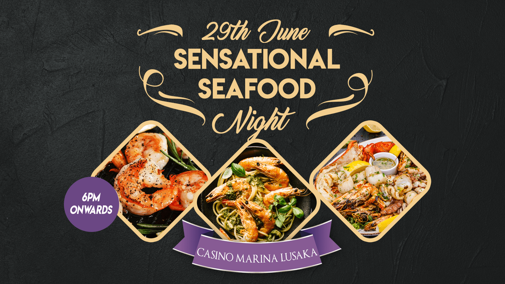 Sensational seafood night