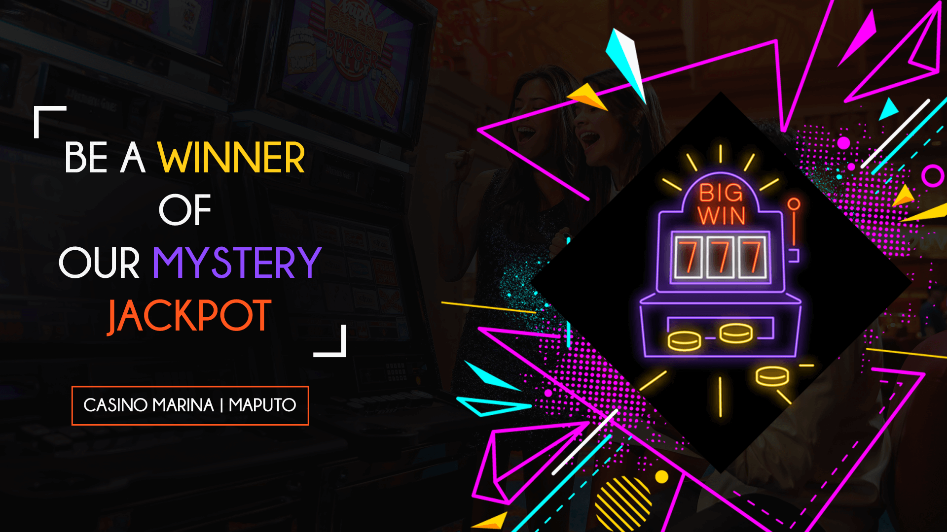 Be a winner of our Mystery Jackpots